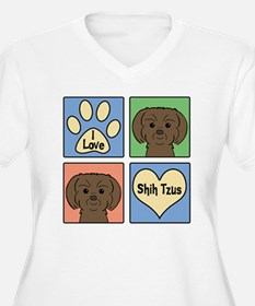 Unique Shih tzu dogs T-Shirt