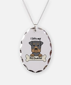 Unique Rottweilers Necklace