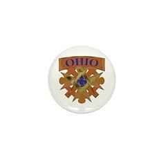 Ohio Mason Mini Button