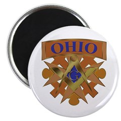"Ohio Mason 2.25"" Magnet (100 pack)"