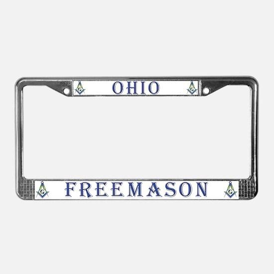 Ohio Mason License Plate Frame