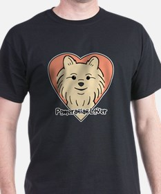 Unique Pomeranian drawing T-Shirt
