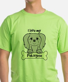 Cute Pekingese christmas T-Shirt