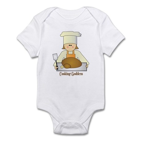 Cooking Goddess Infant Bodysuit