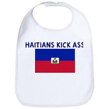 HAITIANS KICK ASS Bib