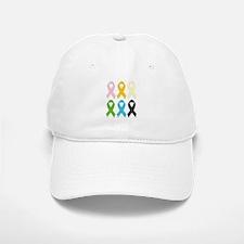 SIx Awareness Ribbons Hat