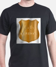 United States MArshal Shield Badge T-Shirt