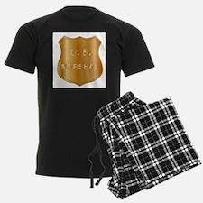 United States MArshal Shield B Pajamas