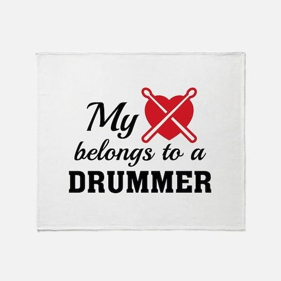 Heart Belongs Drummer Stadium Blanket