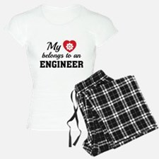 Heart Belongs Engineer Pajamas