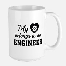 Heart Belongs Engineer Mug