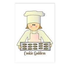 Cookie Goddess Postcards (Package of 8)
