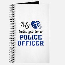 Heart Belongs Police Officer Journal