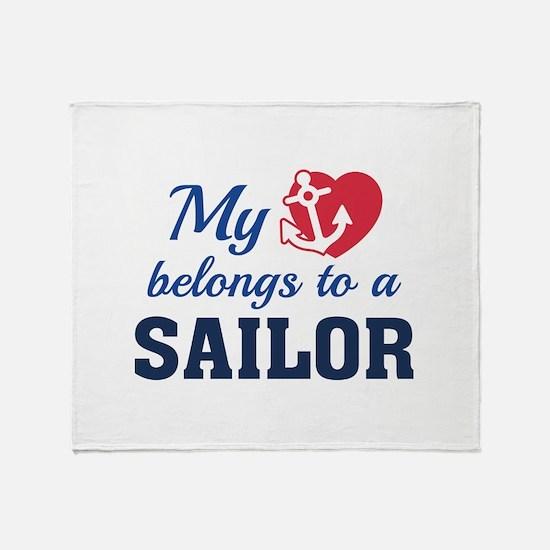 Heart Belongs Sailor Stadium Blanket