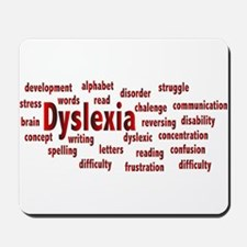 Dyslexia Mousepad
