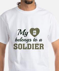 Heart Belongs Soldier Shirt