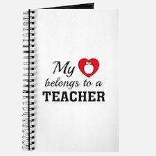 Heart Belongs Teacher Journal