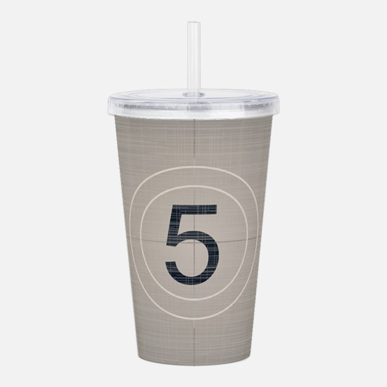 Move Countdown Acrylic Double-wall Tumbler