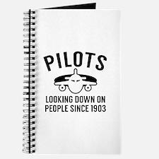 Pilots Looking Down Journal