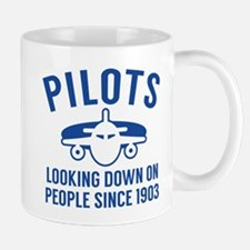 Pilots Looking Down Mug