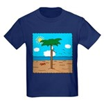 Bassoon Beach - Kids Dark T-Shirt