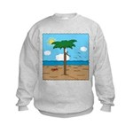 Bassoon Beach - Kids Sweatshirt