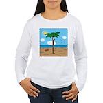 Bassoon Beach - Women's Long Sleeve T-Shirt