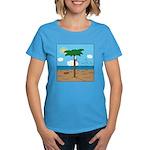 Bassoon Beach - Women's Dark T-Shirt