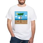 Bassoon Beach - White T-Shirt