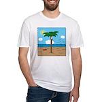 Bassoon Beach - Fitted T-Shirt