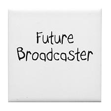 Future Broadcaster Tile Coaster