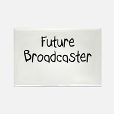 Future Broadcaster Rectangle Magnet