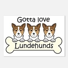 Unique Lundehund Postcards (Package of 8)