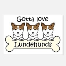 Cool Lundehund Postcards (Package of 8)