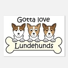 Funny Lundehund Postcards (Package of 8)