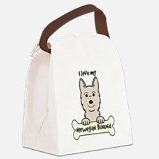Cute Drawing Canvas Lunch Bag