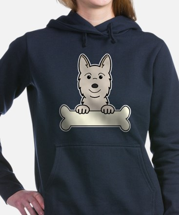 Unique Norwegian buhund Women's Hooded Sweatshirt