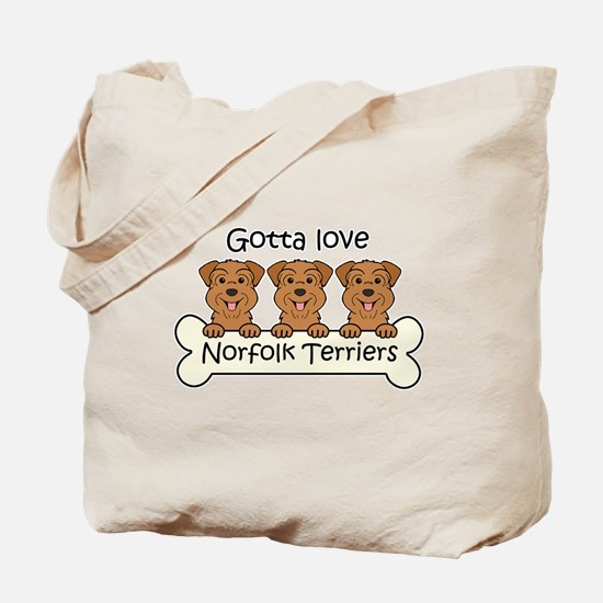 Cute Dog cartoon Tote Bag