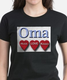 OMA hugs and kisses T-Shirt