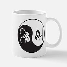 Bike-Ski Yin Yang Mug