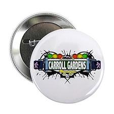 """Carroll Gardens (White) 2.25"""" Button"""