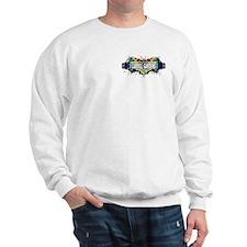 Carroll Gardens (White) Sweatshirt