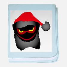 EVil Santa baby blanket