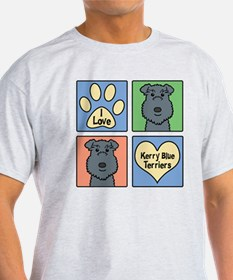 Funny Kerry blue terrier T-Shirt