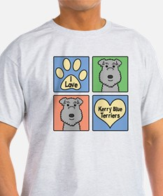 Cute Kerry blue terrier T-Shirt