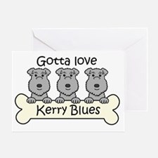 Unique Kerry blue terrier Greeting Card