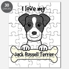Cute Jack russell terrier owner Puzzle