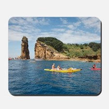 Kayaking in Azores Mousepad