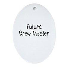 Future Brew Master Oval Ornament