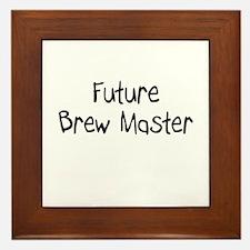 Future Brew Master Framed Tile
